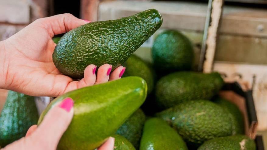 One of the varieties of avocado has a deep green skin