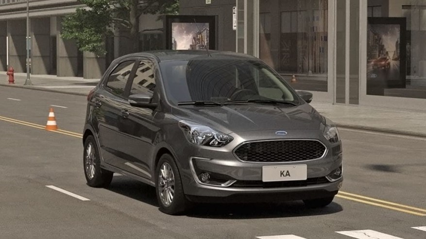Ford Ka, another of the leaders in sales.