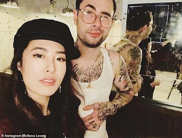 Cambio: la jueza de MasterChef Melissa Leong anunció su separación de su esposo Joe Jones el domingo por la noche [both pictured]