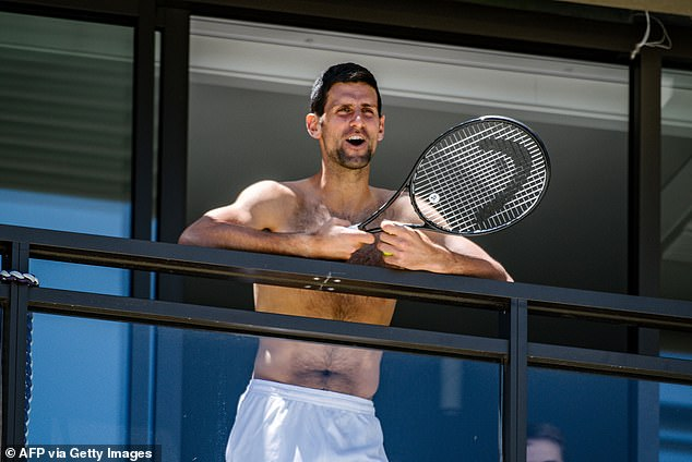 Novak Djokovic produjo una carta abierta después de enfrentar críticas por sus demandas de cuarentena