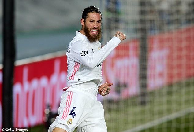 Sergio Ramos podría regresar para el partido de vuelta de semifinales de la Liga de Campeones con el Chelsea el 5 de mayo, según informes.