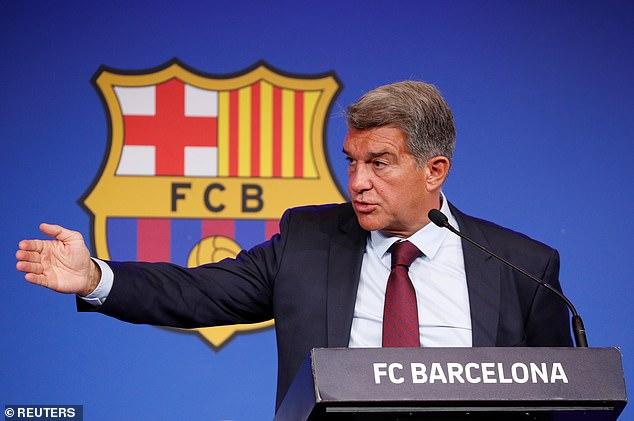Joan Laporta acoge un encuentro con los líderes de la condenada Superliga de Europa