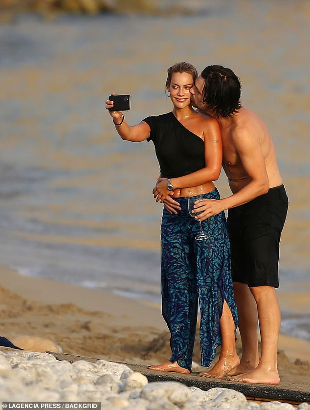 Cuddles:He's been busy filming his upcoming show Pam and Tommy with co-star Lily James. And on Monday, Sebastian Stan was spotted enjoying a break from set as he spent time with girlfriend Alejandra Onieva to ring in his 39th birthday in Ibiza, Spain