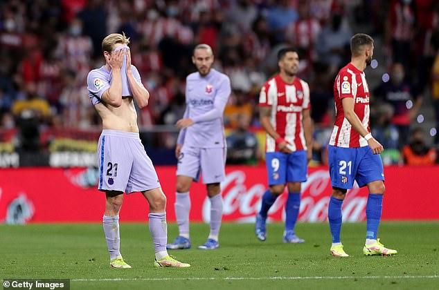 Frenkie de Jong ha insistido en que el Barcelona 'no está estancado' a pesar de su impactante comienzo