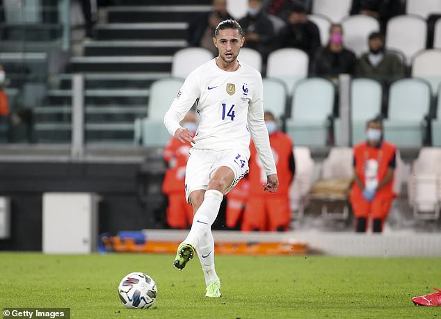 Adrien Rabiot ha sido descartado para la final de la Nations League de Francia contra España con Covid-19