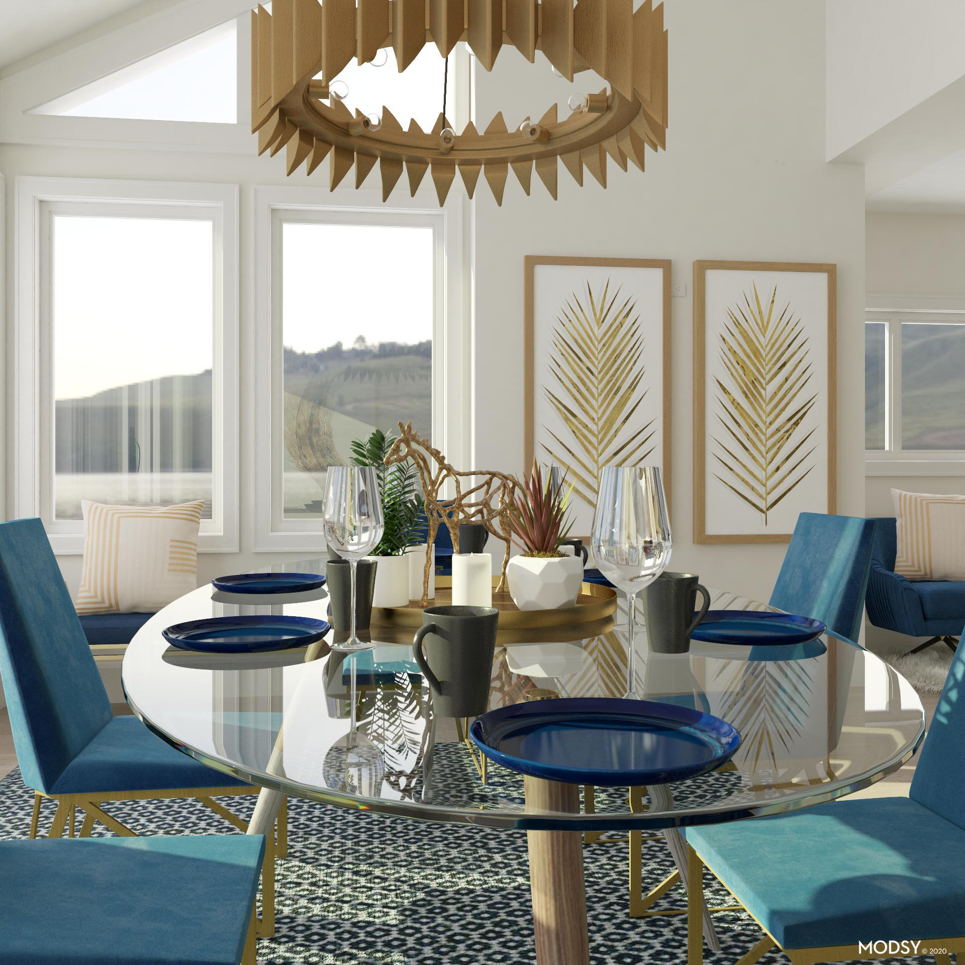 glass dining table design ideas and