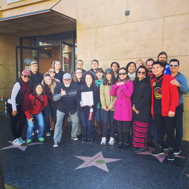 Hollywood and Highland tour