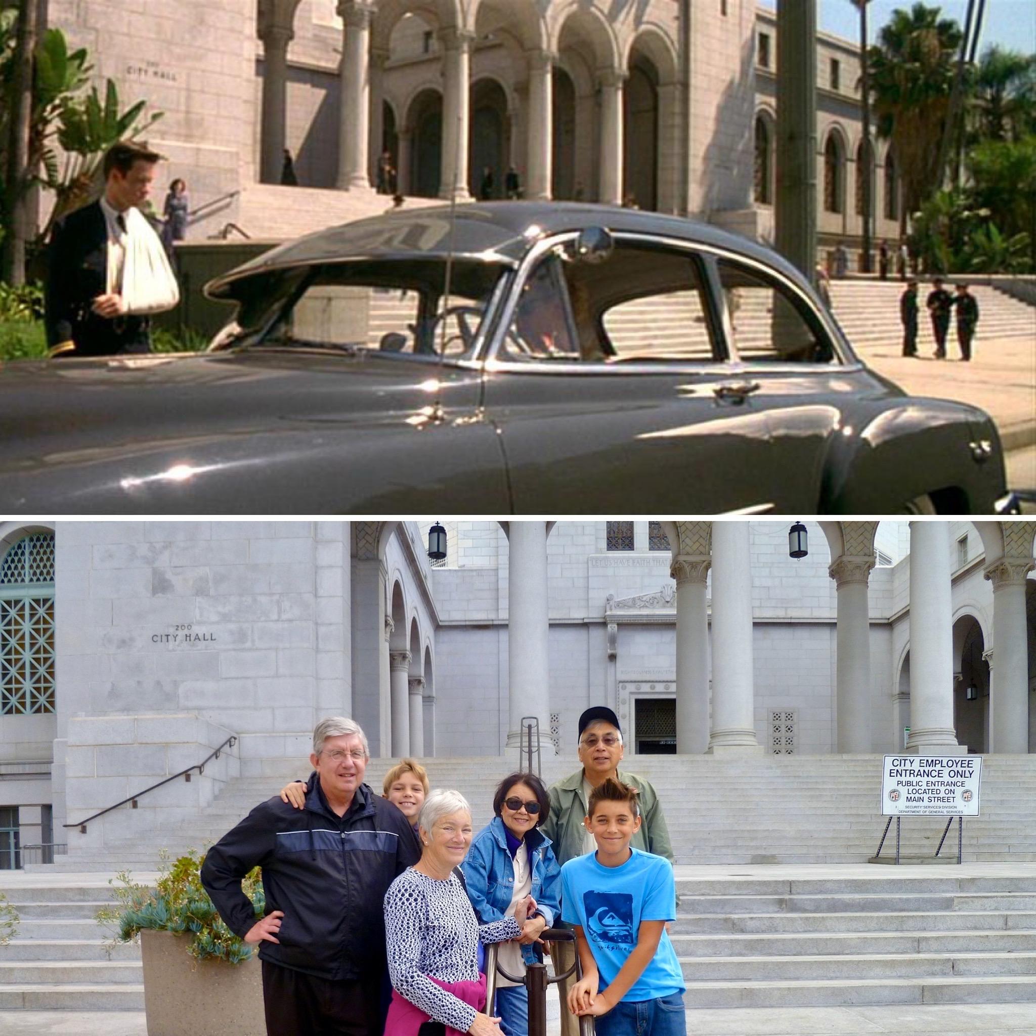 Movies filmed in downtown LA