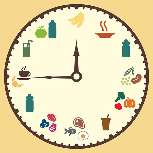 Eating Clock