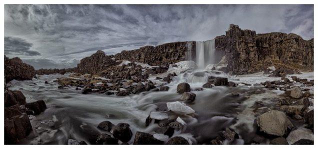 Oxrarfoss Iceland