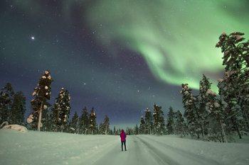 Aurora Selfie Finland