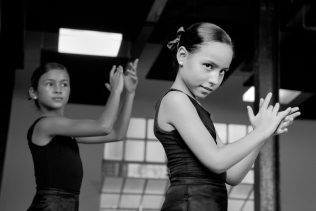 Young Dancers at the Lizt Alfonso Dance Company, Havana ©Doug Kaye