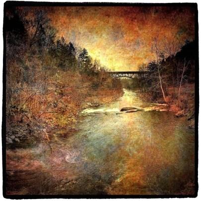 Distant Bridge, Catskill, NY