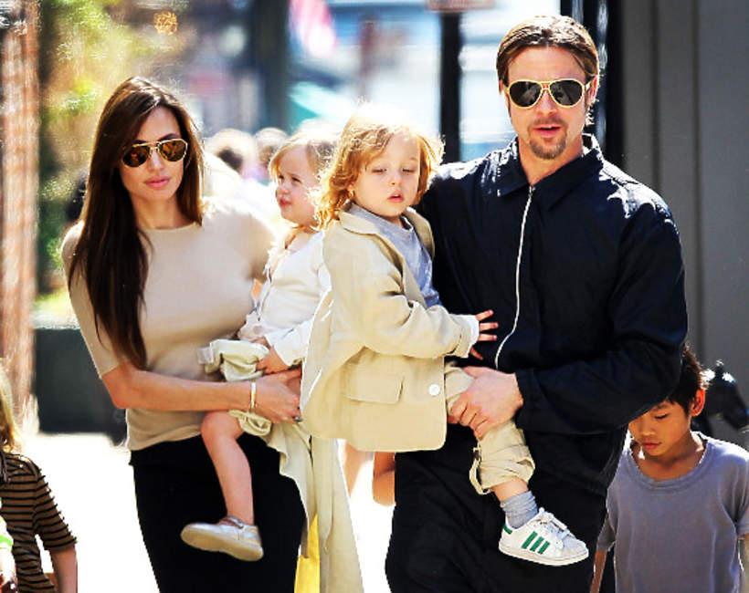 Angelina Jolie, Brad Pitt, Knox Jolie-Pitt, Vivienne Jolie-Pitt
