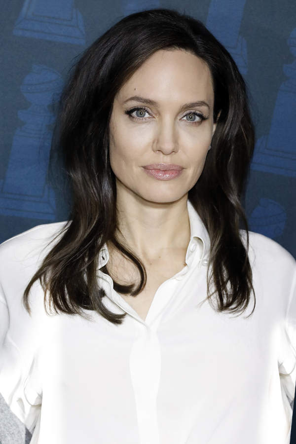 Angelina Jolie in love?  She was caught dating a famous musician