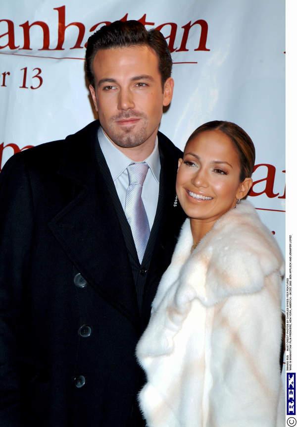 Jennifer Lopez and Ben Affleck, New York 2002