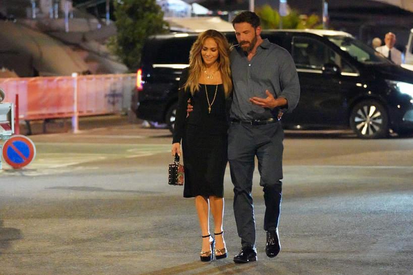Jennifer Lopez and Ben Affleck, St.  Tropez 2021
