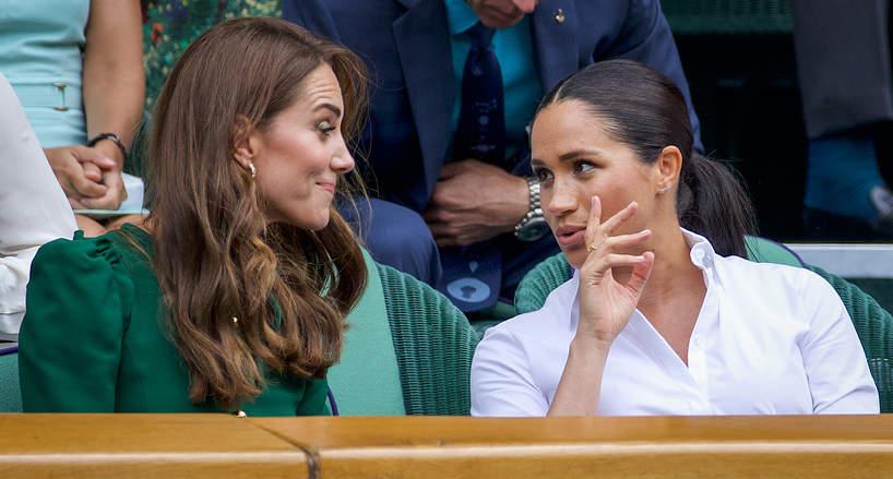 Kate Middleton, Meghan Markle, London 2019