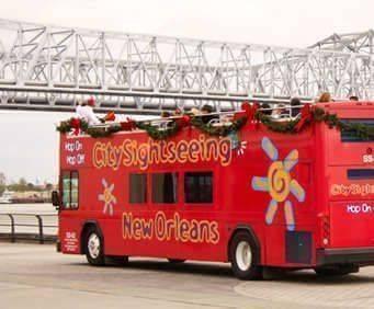 Hop On/Hop Off New Orleans Double Decker Tour