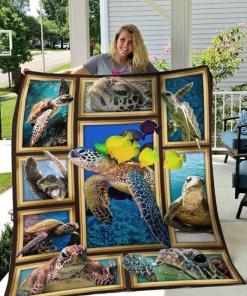 3d Turtle Quilt Blanket