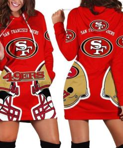 San Francisco 49ers Nfl For 49ers Fan 3d Printed Hoodie Dress 3d