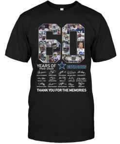 60 Years Of Dallas Cowboys Signed Shirt