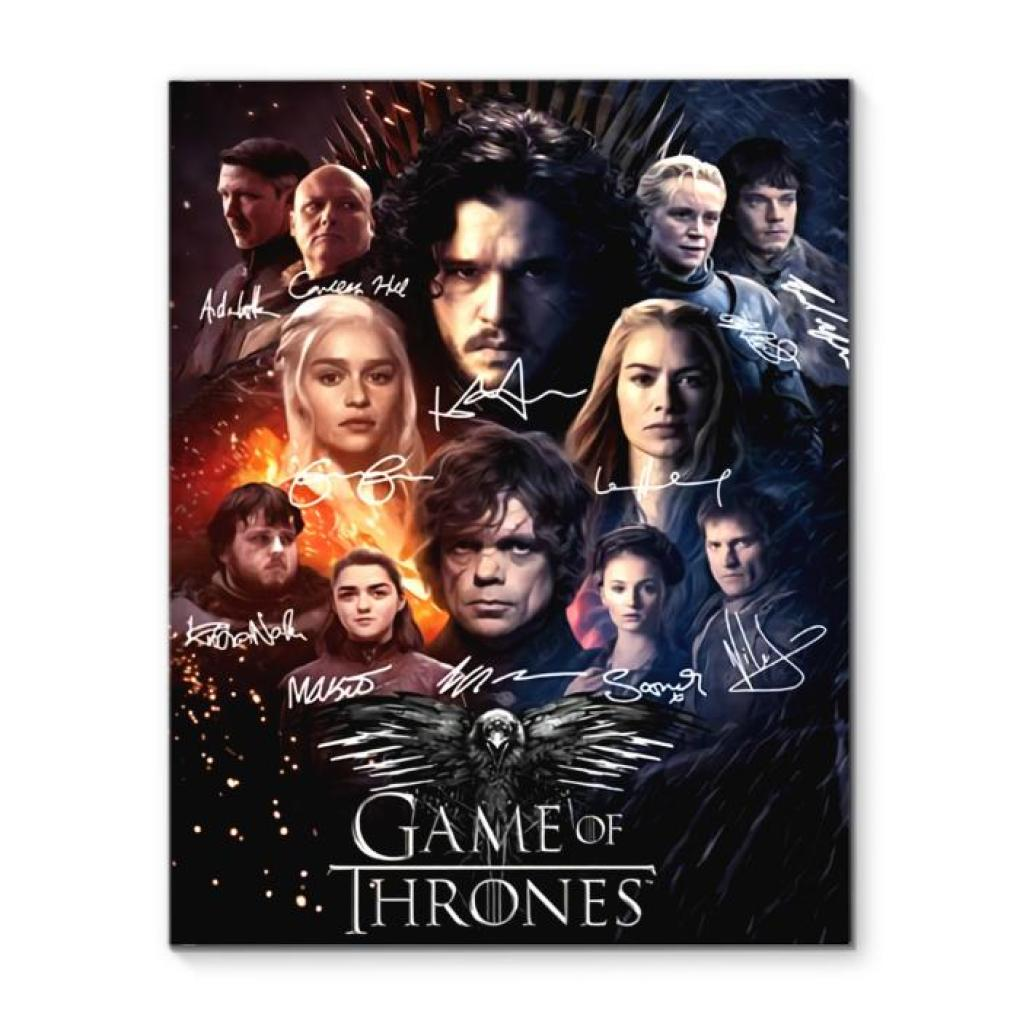 Game Of Thrones Final Season Canvas