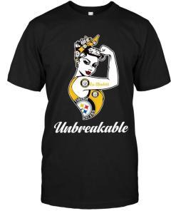 Go Pittsburgh Steelers Unbreakable Girl Shirt