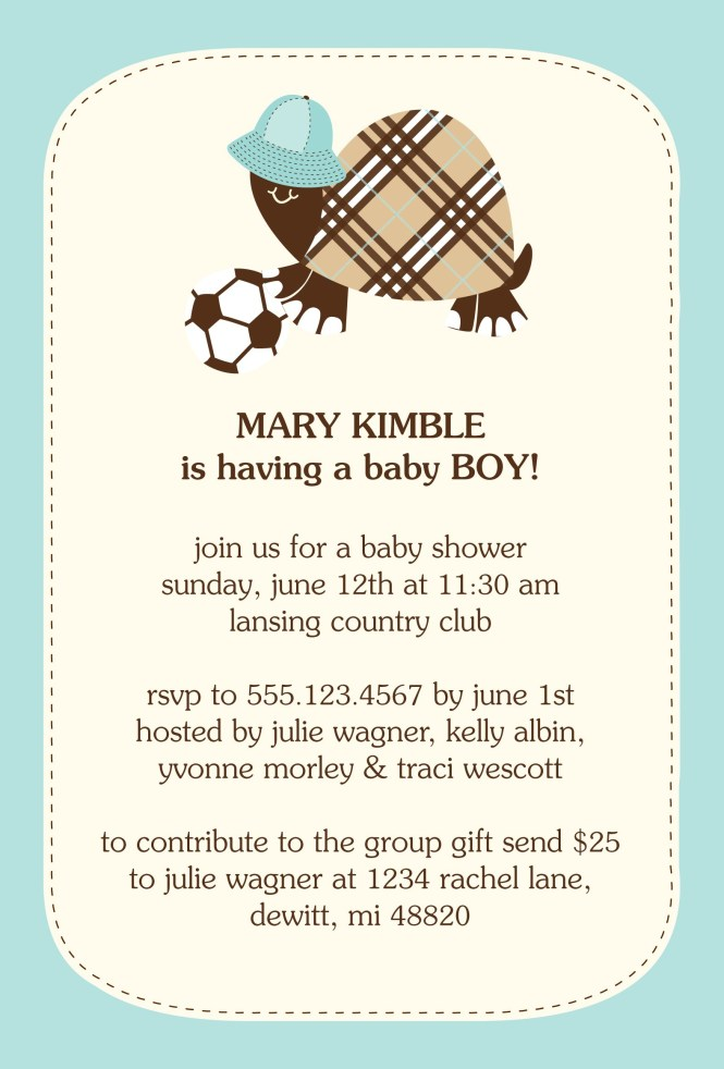 Baby Shower Invitations Wording Ideas