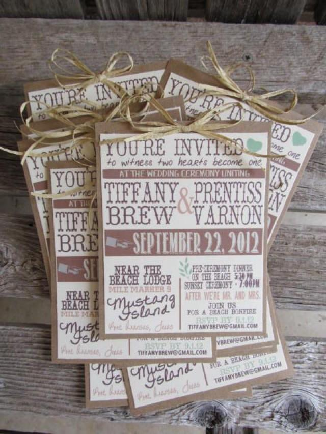 Country Themed Wedding Invitations To Inspire You How Make The