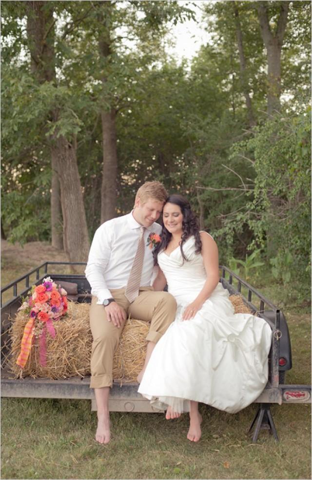 Rustic Shabby Chic Outdoor Wedding Ideas Weddbook