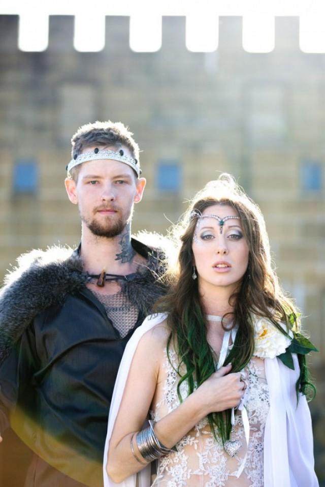 Romantic Viking And Folk Festival Wedding Weddbook