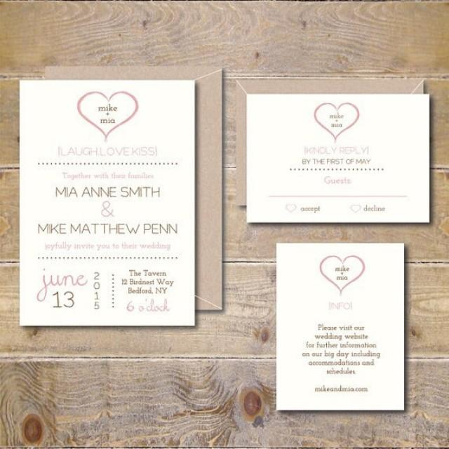 Diy Wedding Invitations Ideas Which You Need To Make Prepossessing Invitation Design 101120165