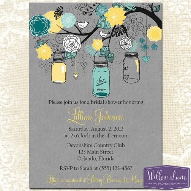 Free Mason Jar Wedding Invitation Templates – Mason Jar Wedding Invites