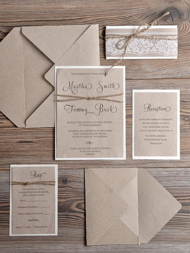 Trend Country Style Wedding Invitations 80 Inspiration With
