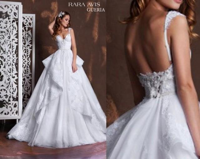 Bridal Dress GUERIA, Lace Wedding Dresses, Lace Wedding