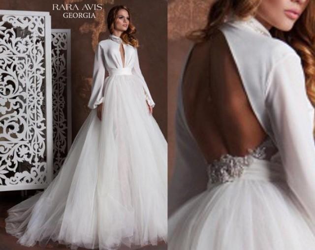 Unique Wedding Dress GEORGIA, Bohemian Wedding Dress