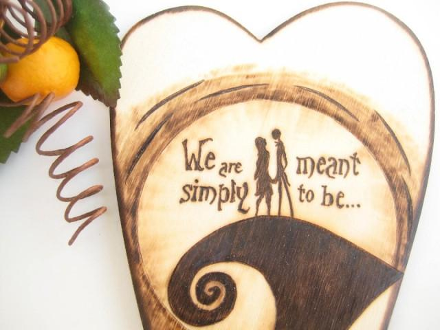 Jack And Sally Wedding Cake Topper, The Nightmare Before