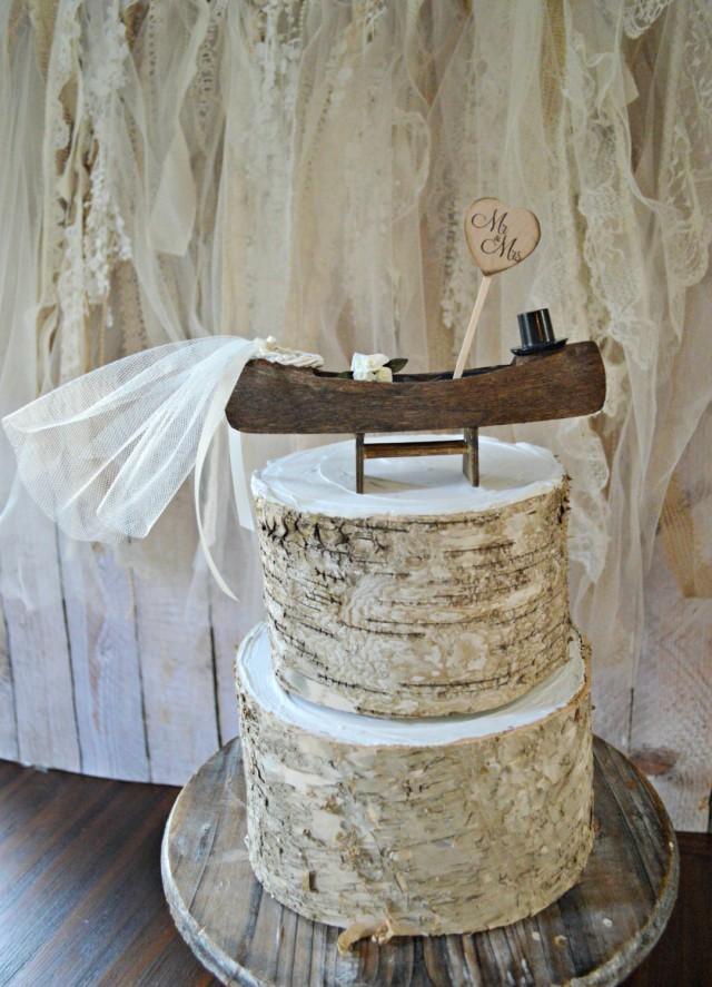 Gone Fishing Wedding Cake Topper Fishing Bride And Groom
