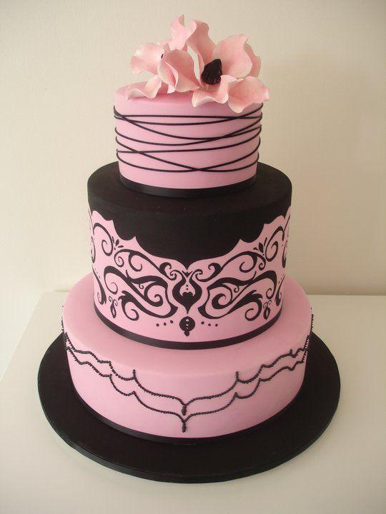 Black Wedding Pink And Black Wedding 1989561 Weddbook