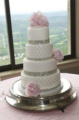 Wedding Cakes   Pink Bling Wedding Cake  2063308   Weddbook Pink Bling Wedding Cake