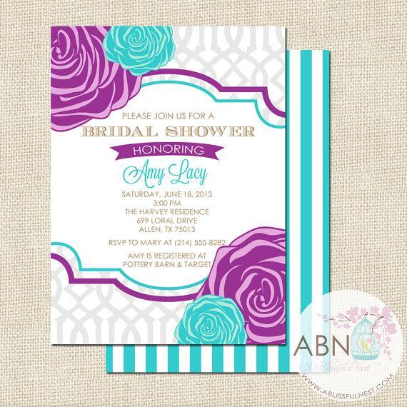 Bridal Shower Invitation Wedding