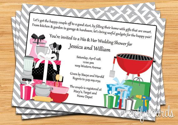 Hers Wedding Shower Invitation