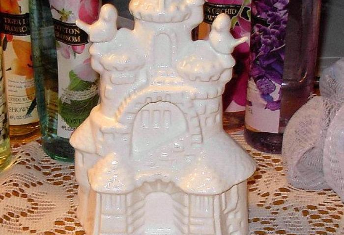 Ceramic Sand Castle Wedding Cake Topper Sand Castle With Love