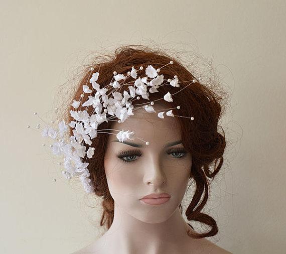 wedding flower hair combs wedding hair accessories bridal hair pieces hair pin clips fascinator hair flower bridesmaid
