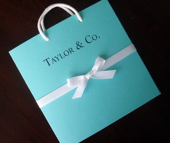 Tiffany And Co Inspired Blue Bag Bridal Shower