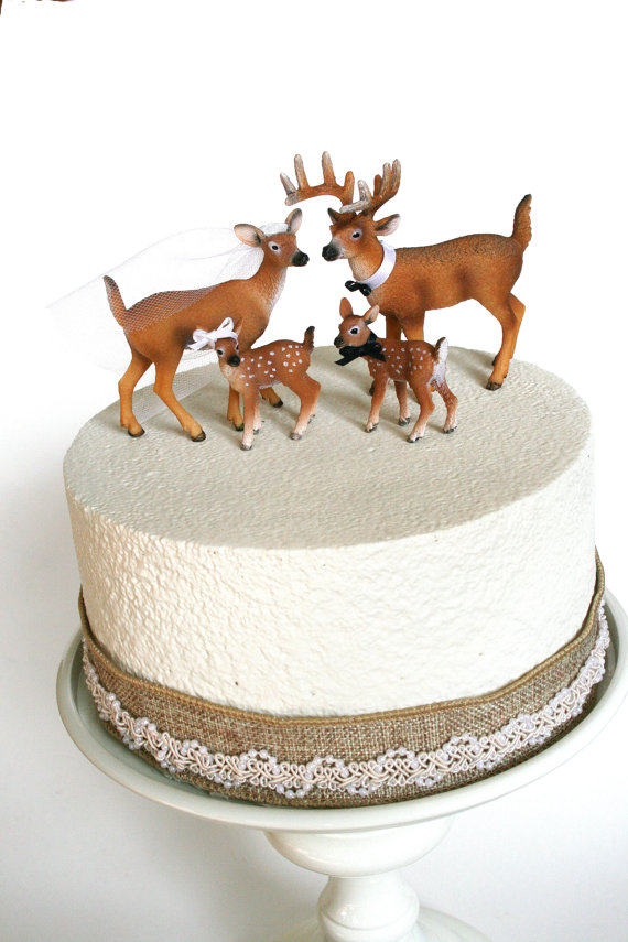 Family Redneck Cake Topper   Deer Cake Topper   Wedding Cake Topper     Family Redneck Cake Topper   Deer Cake Topper   Wedding Cake Topper    Rustic White Tail Deer Cake Topper
