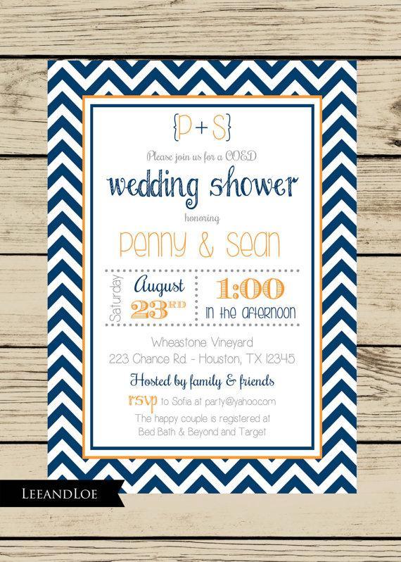 Wedding Couple Shower Invitations Wedding Invitation Sample