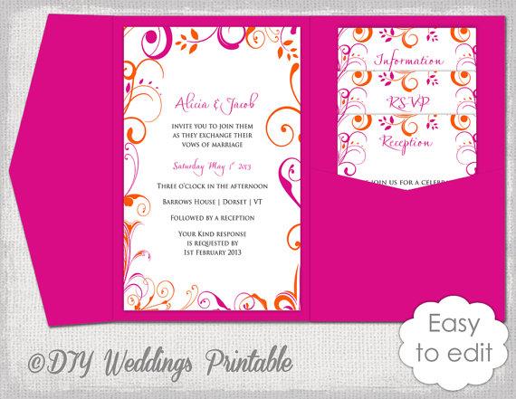 Diy Wedding Invitations 1