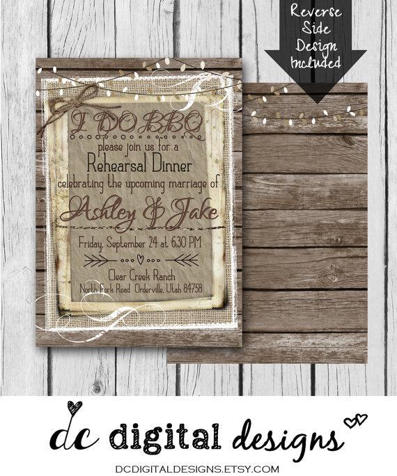 Bbq Wedding Invitations Photo Album - Weddings Pro